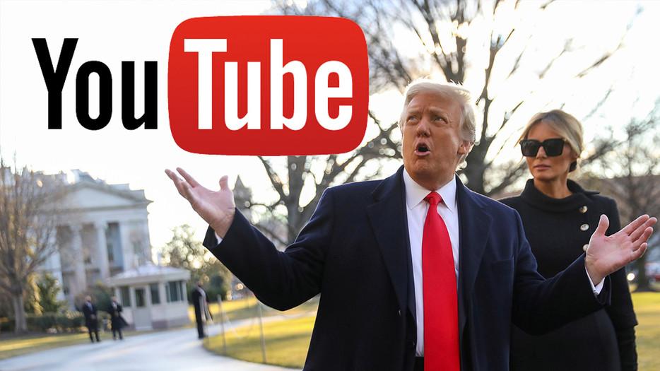 YouTube suspende a Trump indefinidamente