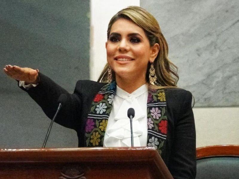EVELYN SALGADO, TOMA PROTESTA COMO GOBERNADORA DEL ESTADO DE GUERRERO.