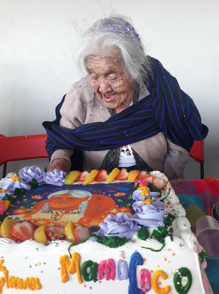 MAMÁ COCO CUMPLIÓ 108 AÑOS