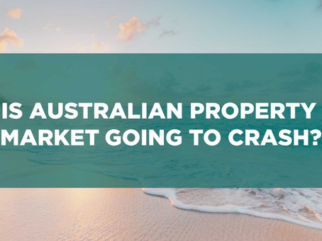 Is Australian property market going to crash?
