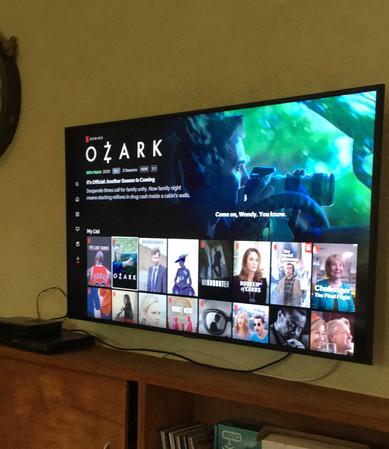 Televisión grande