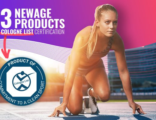 33 NEWAGE PRODUCTS INCLUDED ON WORLD-RENOWNED COLOGNE LIST® FOR SAFE & EFFECTIVE SPORTS NUTRITION