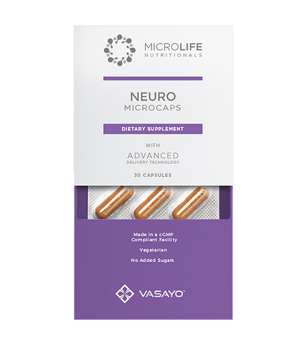 Neuro Microcaps - Vasayo MicroLife Nutritionals