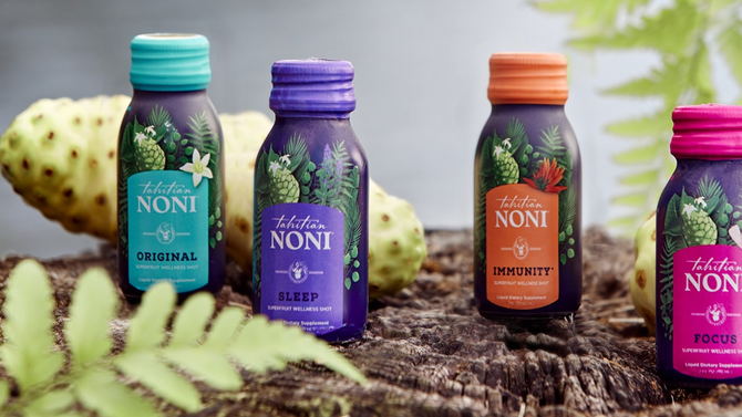 Just Released!  New Tahitian Noni Wellness Shots!