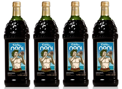 TAHITIAN NONI® Juice  1-liter 4pk