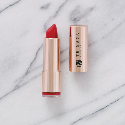 TeMana Lipstick (Volcano Red)