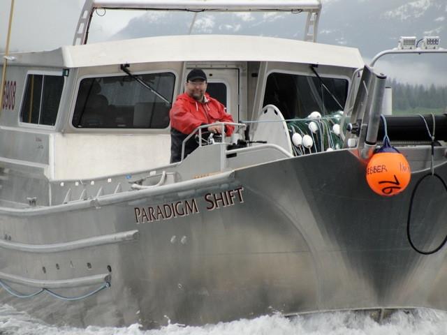Bill arriving in Prince William Sound