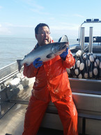Bill and a Coho