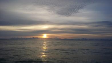 Sunset Alaskan Style