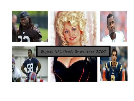 Ten Biggest NFL Draft Busts 2000-2020