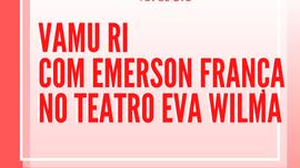 tbt do Eva: Emerson França em 'Vamu Ri'