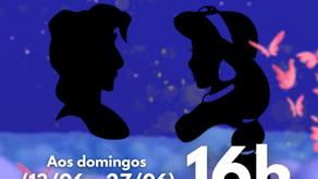 Aladdin e Jasmine no Teatro Eva Wilma
