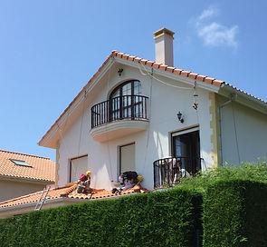 aislamiento de corcho natural para fachadas en torrelavega santander