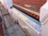 pesebrones de zinc, reparacón de tejados, solución de humedades, problemas de condensación