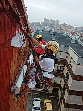 impermeabilización de fachada de tejas, consolidación de tejas de fachada torrelavega