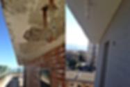 , reparación de morteros monocapa, pinturas y revestimientos, eficiencia energética de edificios, cordinación de obras, fachadas ventiladas, fachadas de azulejos, imprimaciones y consolidantes, tratamientos totales de fachada, arreglos de Fachadas