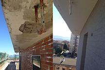 rehabilitación de fachadas Santander