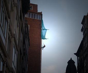 Trabajos verticales. Redes de protección