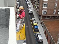 trabajos verticales de rehabilitación de cornisas en torrelavega santader