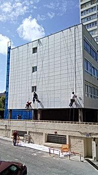 Fachadas Cantabria - trabajos verticales