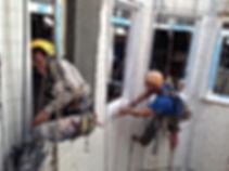 pintores de fachadas de patios interiores fachadas medianeras cambio de ventanas en torrelavega y santander