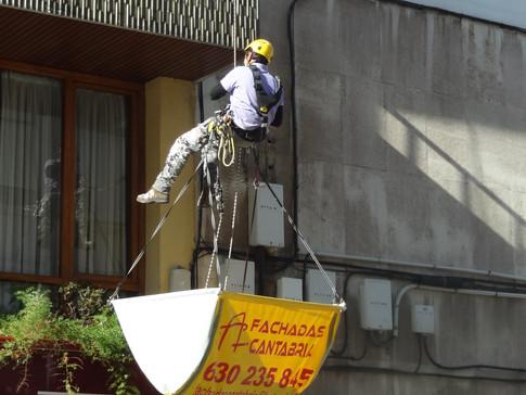 Trabajos verticales Torrelavega