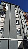 rehabilitación de fachada con andamio modular, fachadas de revoco p