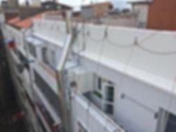 revocos de fachadas, aplicación con llana de morteros y emplastes, reparación de fachadas en santander torrelavega