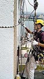realizamos trabajos en altura, reparaciones con mortero, trabajos de construccion