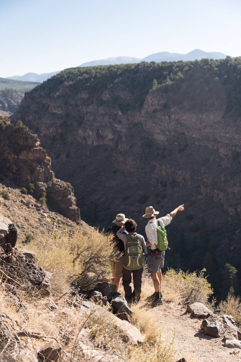 2017 Astronaut Class Earth and Planetary Science Training in Rio Grand del Norte National Monument Upper Gorge Area, New Mexico