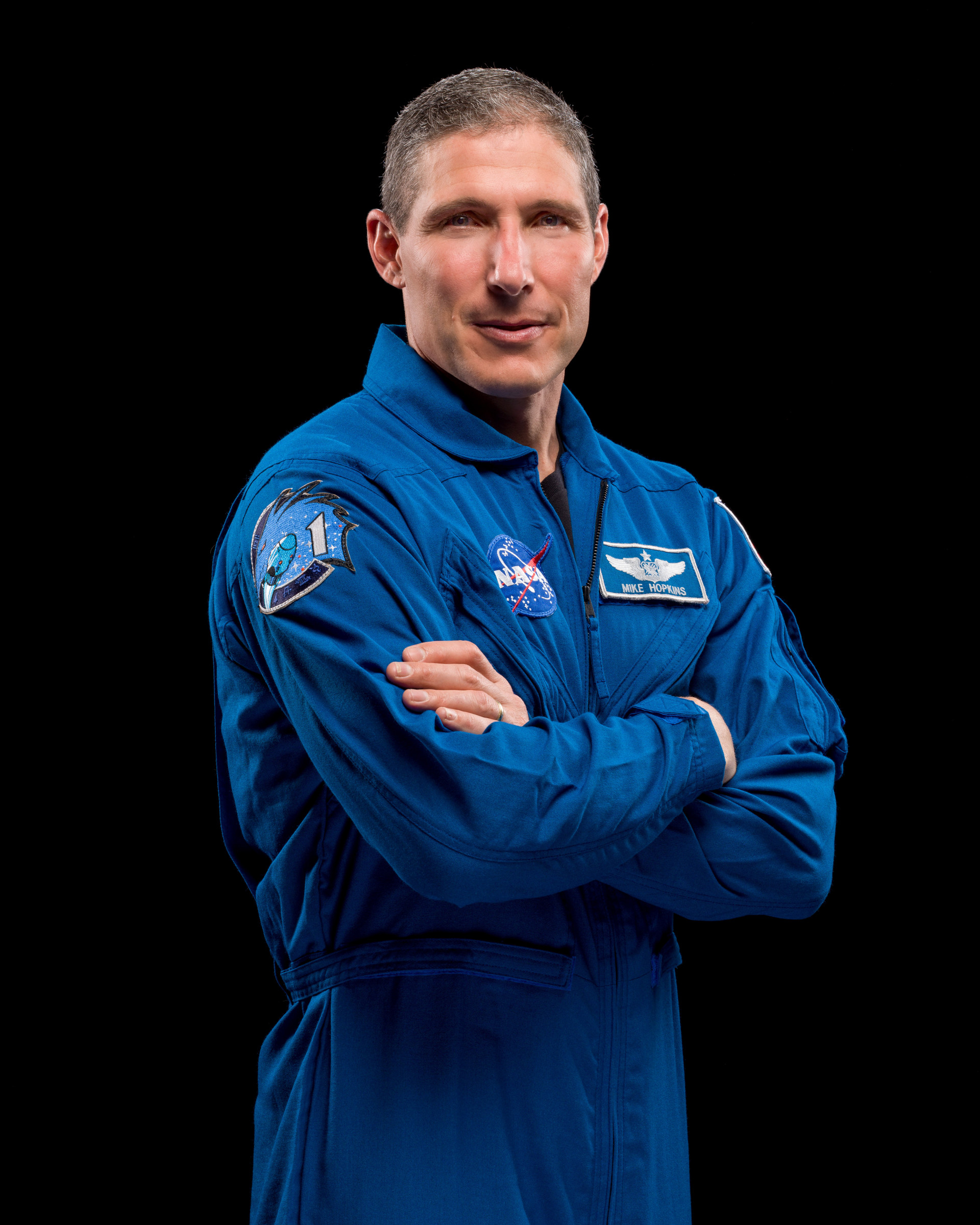 NASA astronaut and SpaceX Crew-1 Commander Mike Hopkins will also be a Flight Engineer for Expedition 64.
