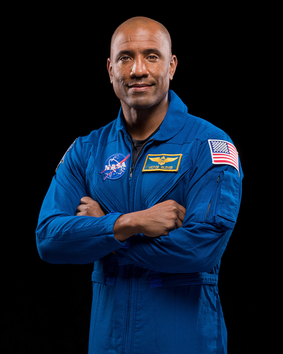 NASA astronaut and SpaceX Crew-1 Pilot Victor Glover will also be a Flight Engineer for Expedition 64.