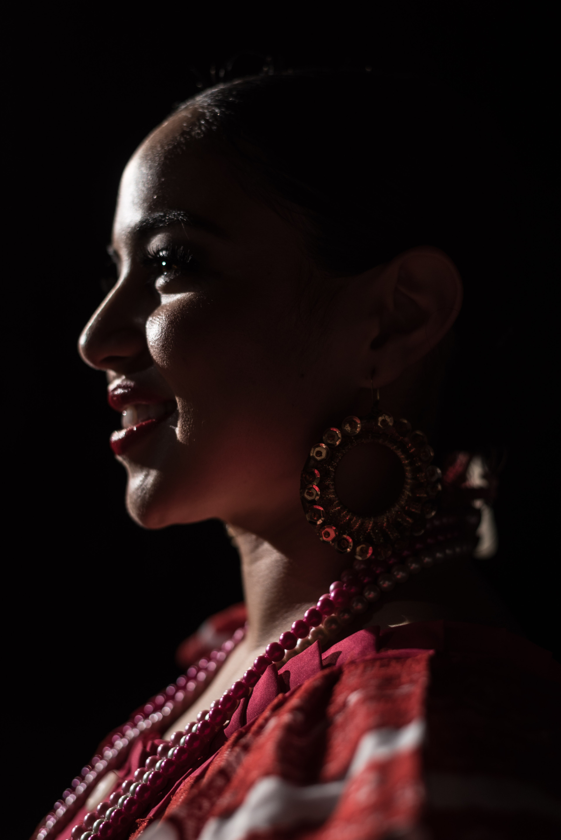 Dancer from the Ballet Folklorico Tapatio dance group