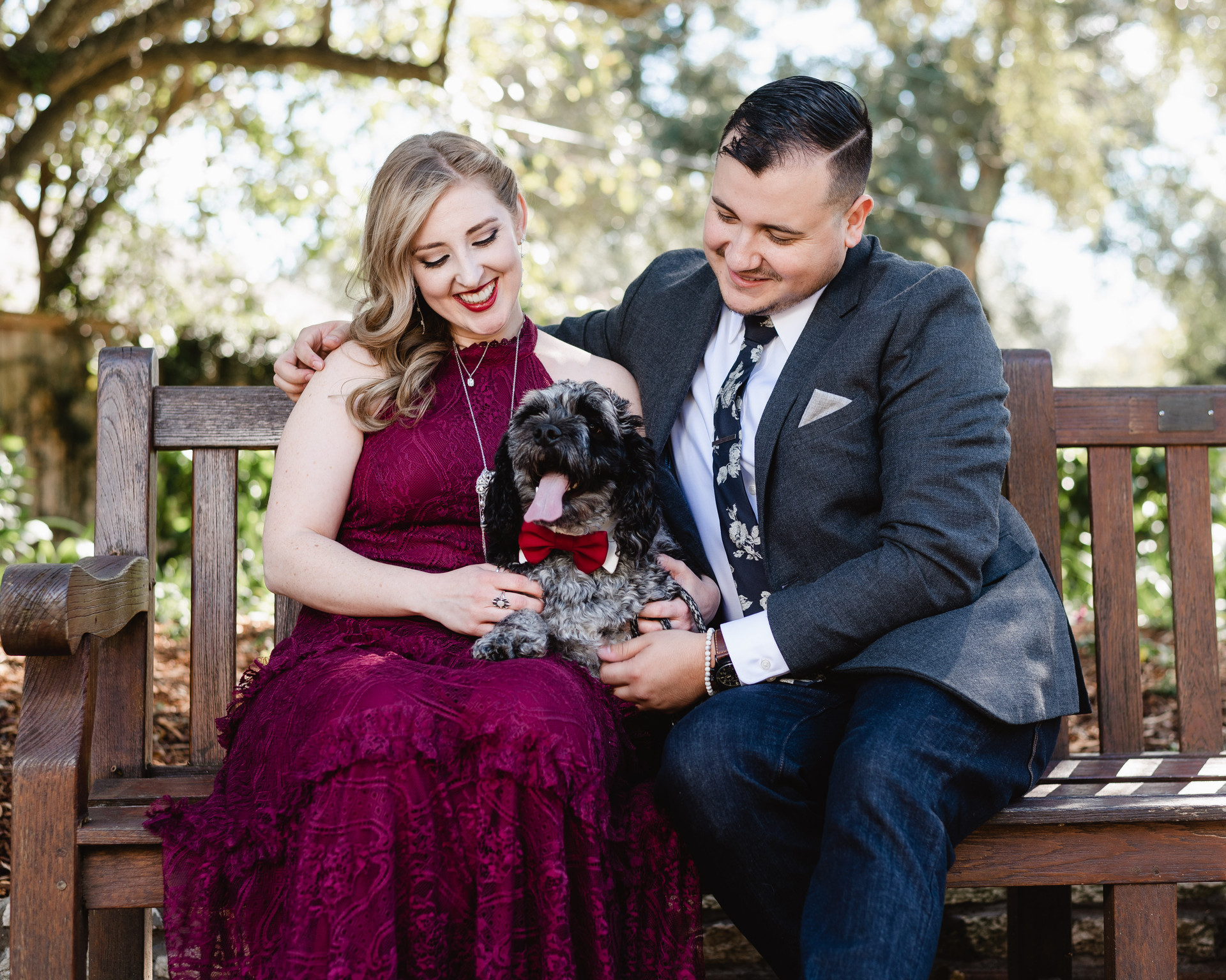 Curtis and Ashley's small intimate wedding