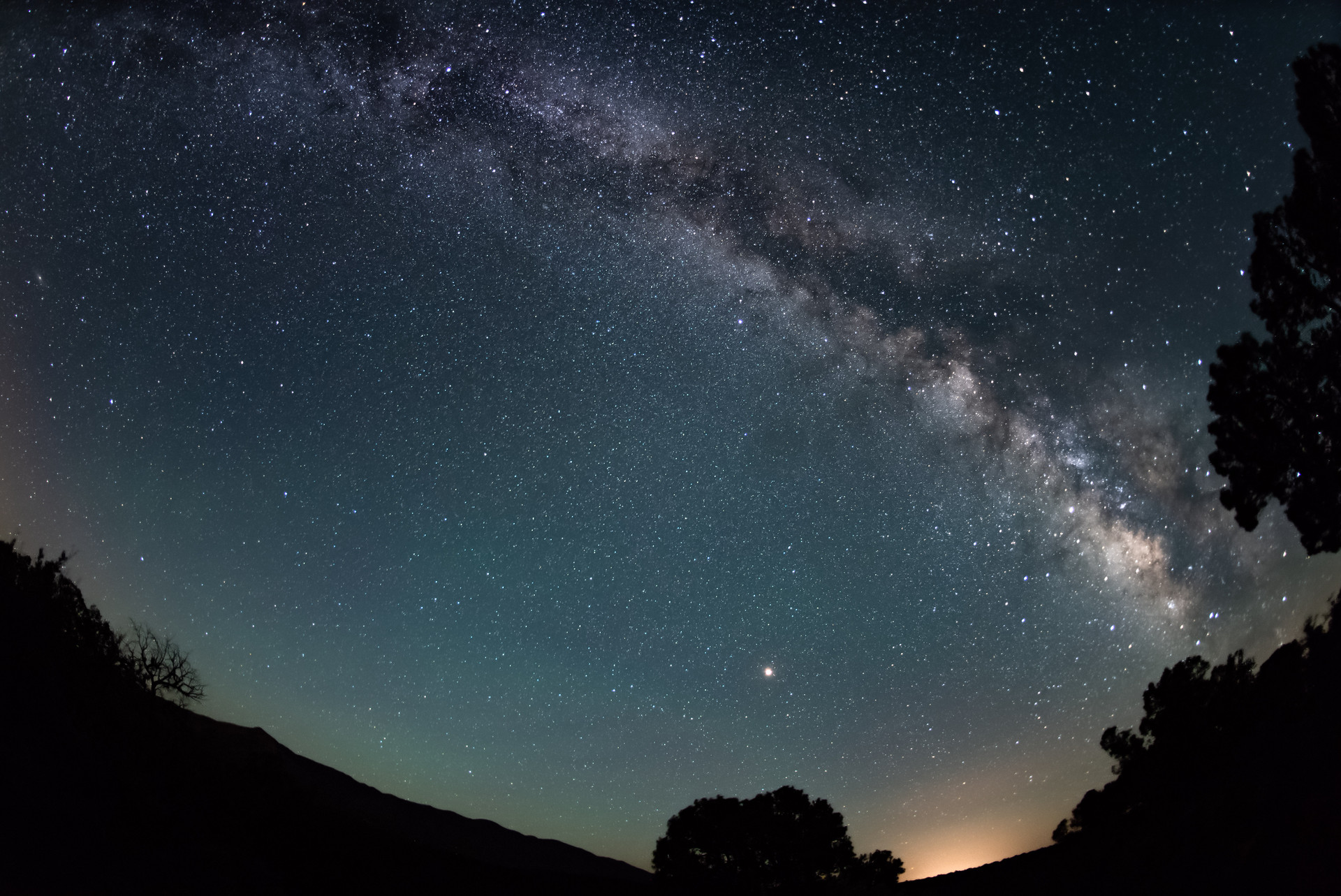 The milky way in the Río Grande del Norte National Monument in June 2018.