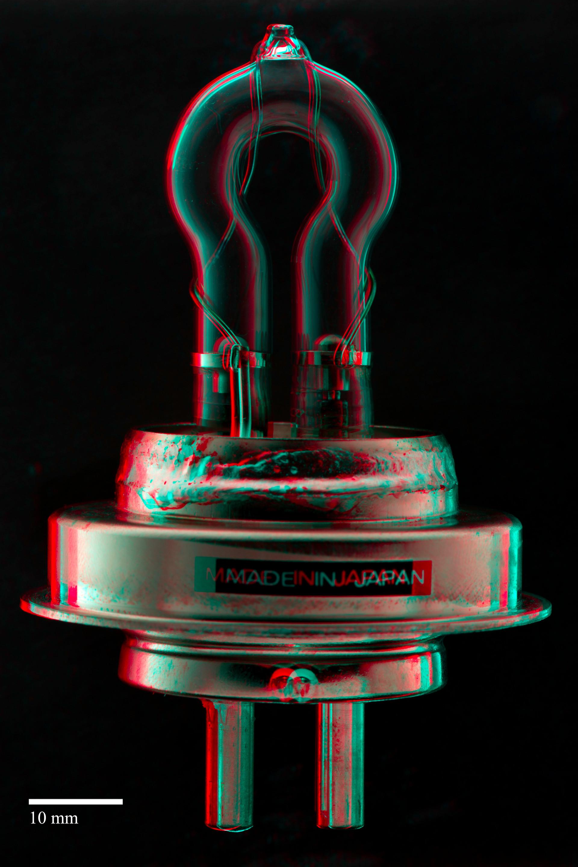 3D image of a light bulb