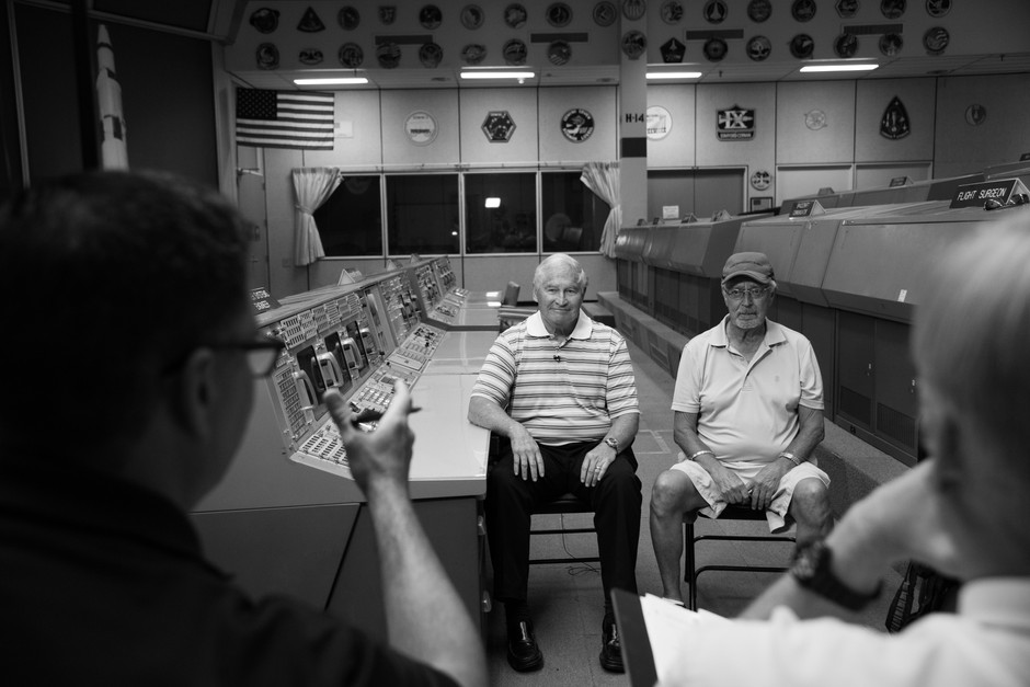 As part of restoring the Historic Apollo Mission Control Center Space City Films interviewed retired flight controllers about their time working in the room.