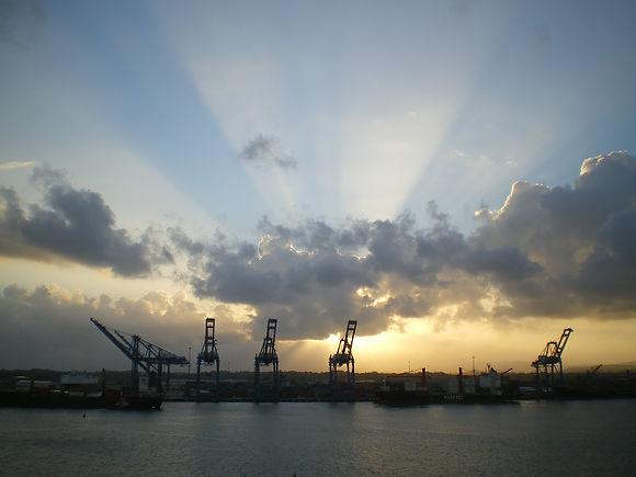 Panama shipyard