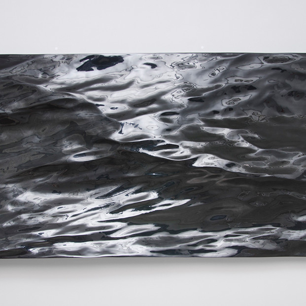 Waterfront 2 / Variation 1, 2015 Epoxi mould 270 x 150 cm