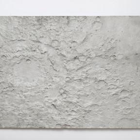 Surface Segment 1 / Variation 1, 2015 Concrete on construction 270 x 150 cm