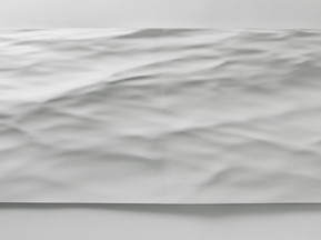Waterfront Variation 2, 2015 Resin mould 97 x 304 cm