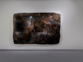 Untitled, 2017 Epoxy and metallic particules 196,5 x 289,5 cm