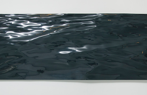 Waterfront Variation 1 / Waterfront Varyasyon 1, 2015 Epoxy mould 97 x 304 cm