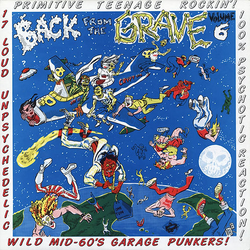 """""""Back From The Grave""""Vol. 6 (Crypt) LP"""