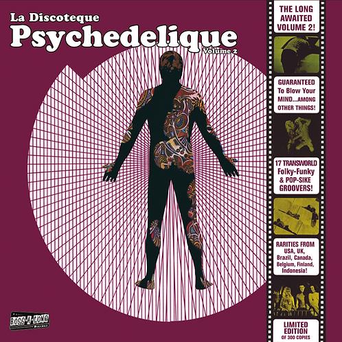 """V/A """"La Discoteque Psychedelique"""" Vol. 2 LP (B-A-T)"""