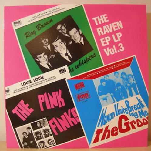 Various–The Raven EP LP Vol.3 LP