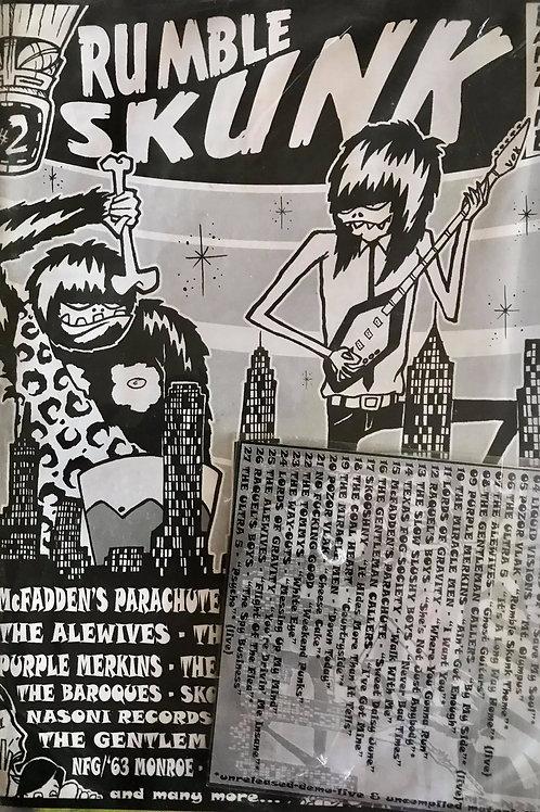RUMBLE SKUNK Fanzine + CD