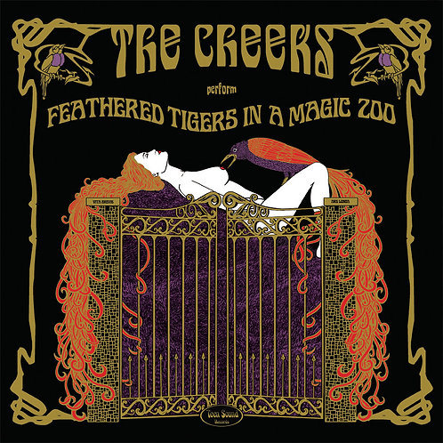 """THE CHEEKS """"Feathered Tigers In A Magic Zoo"""" LP"""