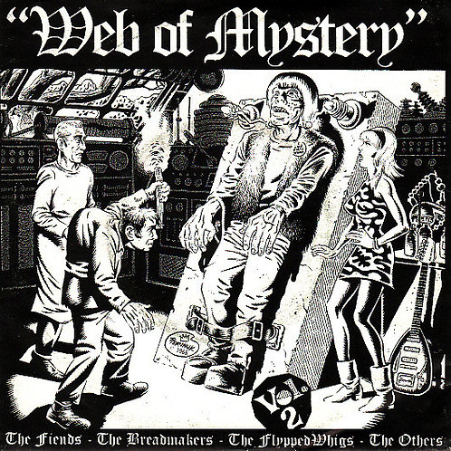 """Various–Web Of Mystery Vol. 2 - 7"""" EP"""