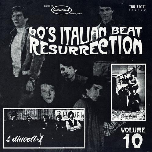 Various–60's Italian Beat Resurrection Volume 10 LP